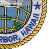 Naval Station Pearl Harbor Hawaii Patch - Version A | Lower Right Quadrant