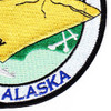 Naval Station Kodiak, Alaska WWII Patch | Lower Right Quadrant