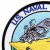 Naval Station Kodiak, Alaska WWII Patch | Upper Left Quadrant