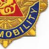 57th Transportation Battalion Patch | Lower Right Quadrant