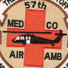 57th Medical Company Air Ambulance Patch   Center Detail