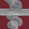 57th Medical Battalion Patch   Center Detail