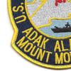 NAVAL Radio Station NCS ADAK Mount Moffett Alaska Patch   Lower Left Quadrant