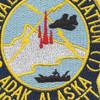 NAVAL Radio Station NCS ADAK Mount Moffett Alaska Patch   Center Detail