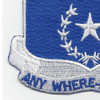 57th Infantry Regiment Patch   Lower Left Quadrant