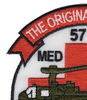 57th Aviation Medical Detachment Helicopter Ambulance Patch