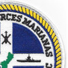 Naval Forces Marianas 7th Fleet Patch   Upper Right Quadrant