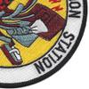 Naval Communication Station Norfolk VA Patch   Lower Right Quadrant