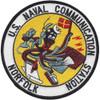 Naval Communication Station Norfolk VA Patch