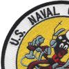 Naval Communication Station Norfolk VA Patch   Upper Left Quadrant