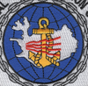 Naval Communication Station Iceland Patch | Center Detail