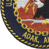 Naval Communication Station Adak Alaska Patch | Lower Left Quadrant