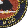 Naval Communication Station Adak Alaska Patch | Lower Right Quadrant