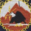 Naval Communication Station Adak Alaska Patch | Center Detail