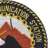 Naval Communication Station Adak Alaska Patch | Upper Right Quadrant