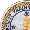 Recruit Training Command San Diego, California Patch | Upper Left Quadrant