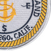 Recruit Training Command San Diego, California Patch | Lower Right Quadrant