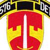 576th Airborne Infantry Demolition Detachment Patch   Center Detail