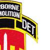 576th Airborne Infantry Demolition Detachment Patch   Upper Right Quadrant