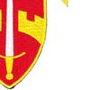 576th Airborne Infantry Demolition Detachment Patch   Lower Right Quadrant