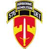 576th Airborne Infantry Demolition Detachment Patch