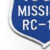 RC-135 100 Missions Real Reconnaissance Patch | Lower Left Quadrant