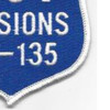 RC-135 100 Missions Real Reconnaissance Patch | Lower Right Quadrant