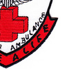 571st Aviation Medical Company Air Ambulance Dust Off Patch | Lower Right Quadrant