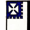 56th Infantry Regiment Patch | Upper Left Quadrant