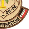 Operation Iraqi Freedom 05-06 Patch | Lower Right Quadrant