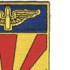 56th Air Defense Artillery Regiment Patch | Upper Right Quadrant