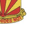 56th Air Defense Artillery Regiment Patch | Lower Right Quadrant
