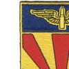 56th Air Defense Artillery Regiment Patch | Upper Left Quadrant