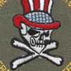 OIF Uncle Sam Skull Patch | Center Detail