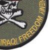 OIF Uncle Sam Skull Patch | Lower Right Quadrant