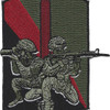 55th Signal Company Combat Camera Patch   Center Detail