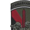 55th Signal Company Combat Camera Patch   Upper Left Quadrant