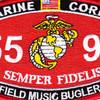 5591 Field Music Bugler MOS Patch | Center Detail