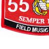 5591 Field Music Bugler MOS Patch | Lower Left Quadrant