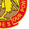558th Field Artillery Group Patch   Lower Right Quadrant