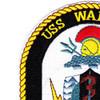 MCM-10 USS Warrior Patch   Upper Left Quadrant