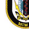 MCM-10 USS Warrior Patch   Lower Left Quadrant
