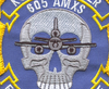 McDonnell Douglas KC-10 Extender 605th Air Maintenance Squadron Patch | Center Quadrant