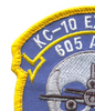 McDonnell Douglas KC-10 Extender 605th Air Maintenance Squadron Patch | Upper Left Quadrant