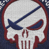 Maritime Interception Ops Intel Calico Jack Pirate Patch | Center Detail
