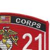 Marine MOS 2621 Manual Morse Intercept Operator Patch | Upper Right Quadrant