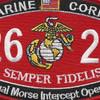 Marine MOS 2621 Manual Morse Intercept Operator Patch | Center Detail