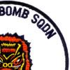 550th Bomb Squadron Patch   Upper Right Quadrant