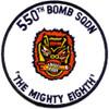 550th Bomb Squadron Patch