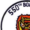 550th Bomb Squadron Patch   Upper Left Quadrant